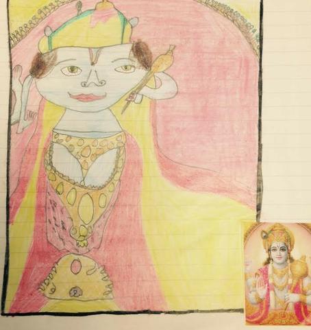 Vishnu - by Paige Taylor