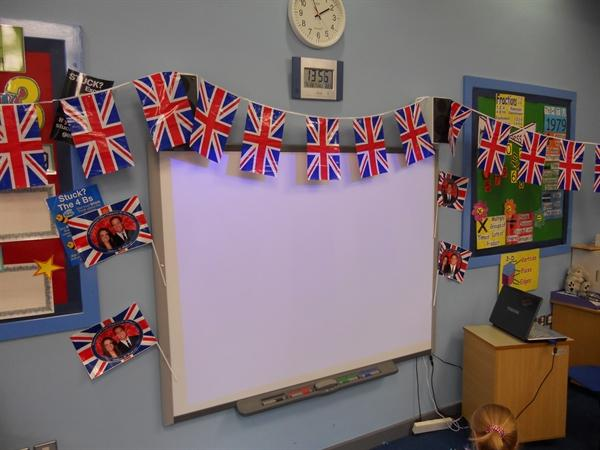We had a great time celebrating the Royal Wedding!