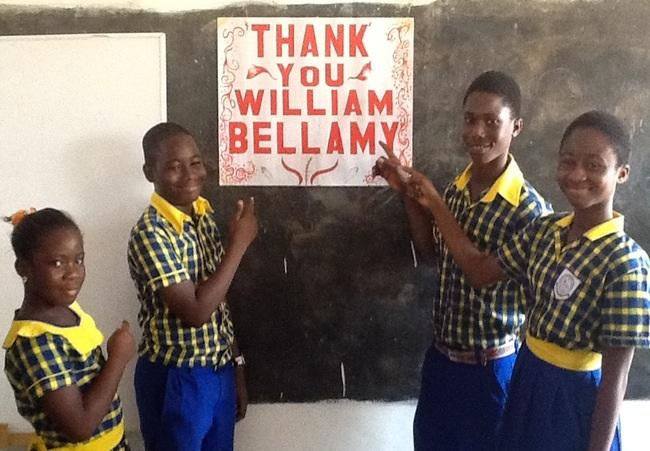 They were extremely grateful of our generosity!