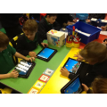 We loved designing robots and machines on the iPad