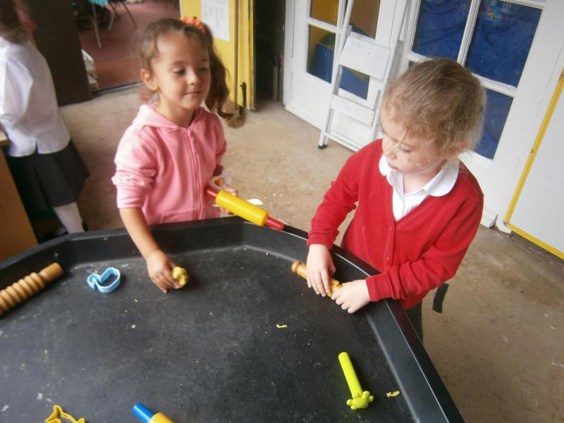 Physical Development - Using tools and playdough