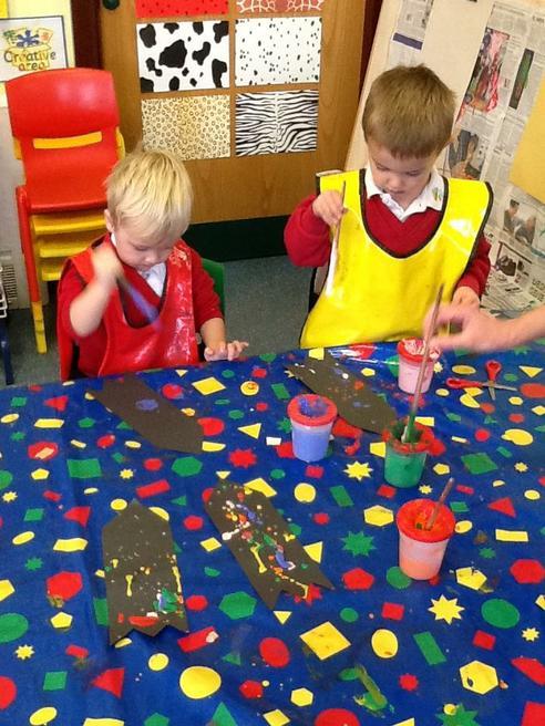 Making 'drip & tip' rockets