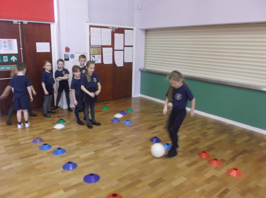 Football - dribbling skills