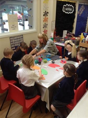 Designing rockets with Miss Wells
