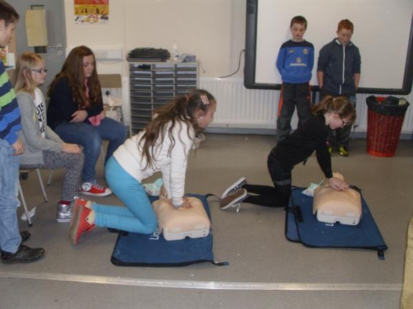 First Aid Training On Friday Afternoons