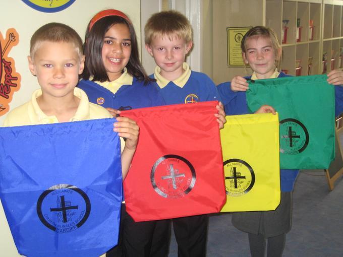 P.E. Kit bags