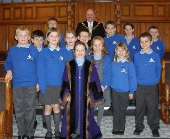Visit to Southport Town Hall to meet the Mayor