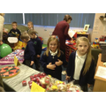 School Council stall at the Christmas Fayre