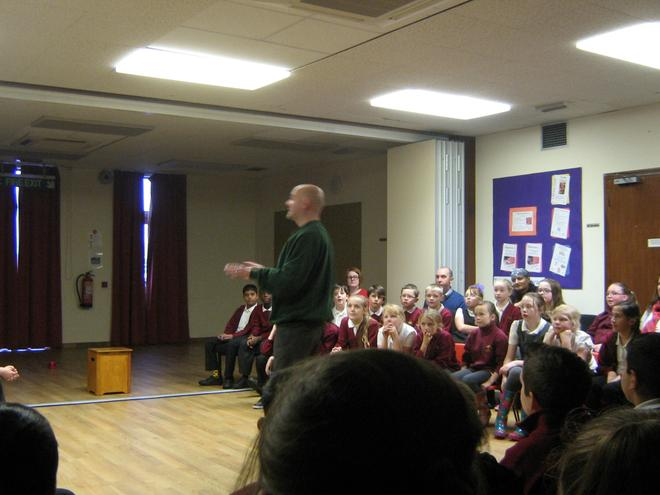 World War I play at BL library for Yrs 5 & 6