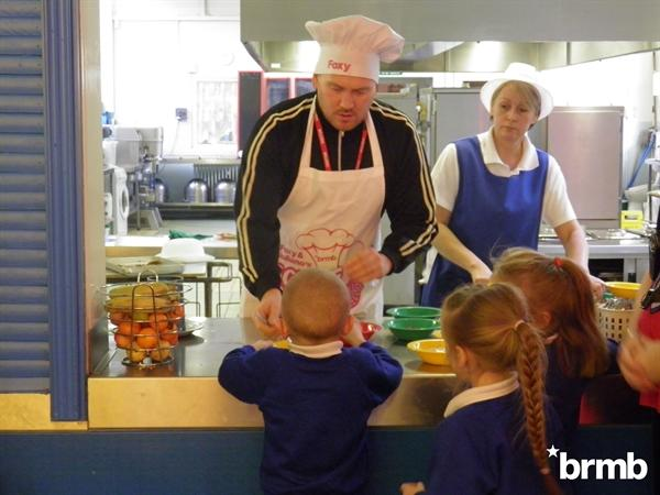 BRMB serving the Timberley children