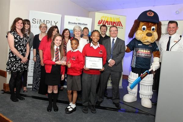 Northants school of the year winner!