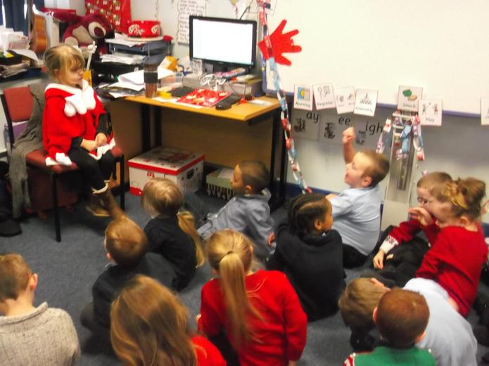 Hot seating - what questions would you ask Santa?