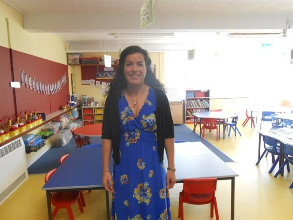 Mrs McBride is our Class Teacher