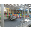 Our EYFS Entrance & Outdoor Area