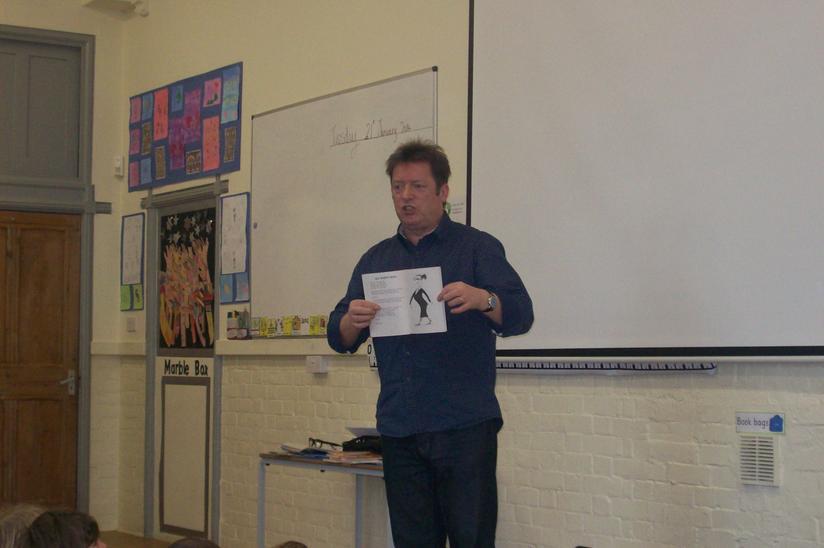 Paul Cookson - Poet visit - January 2014