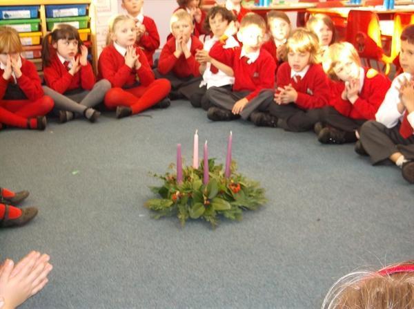 Praying around the Advent Wreath