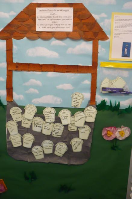 Our Wishing Well looks fantastic!
