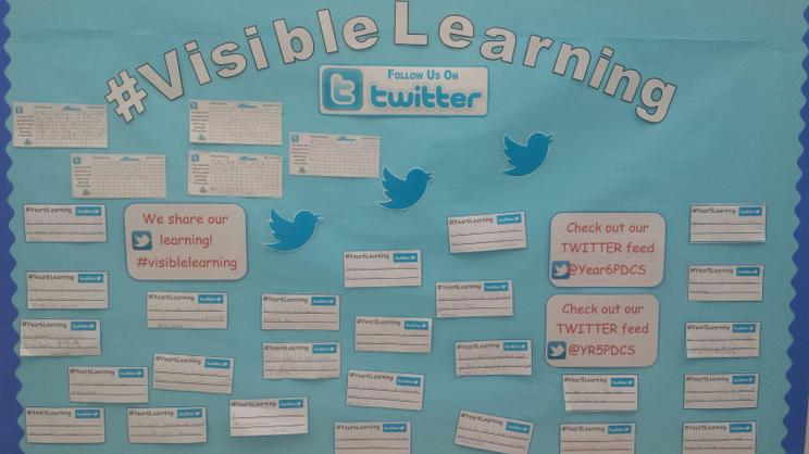 Tweeting our comments #visiblelearning