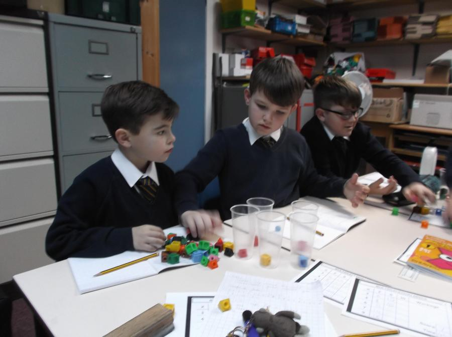 Multiplication using cubes