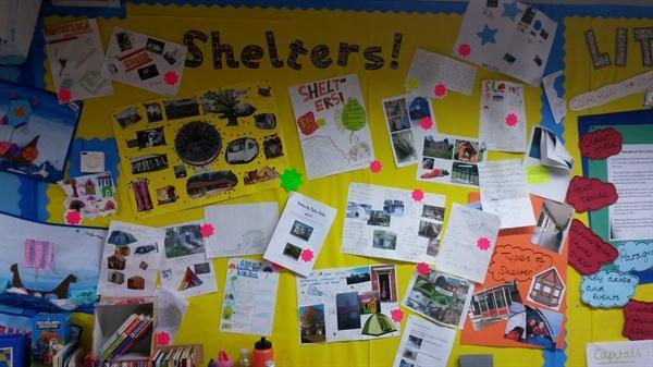 Our DT display - Shelters