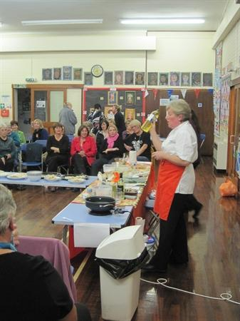 Sainsbury's Cooking Demo (Nov 2011)
