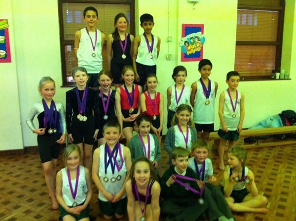 Gymnastic Winners