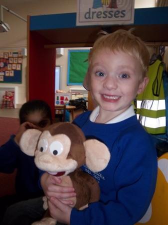 What a cheeky monkey!