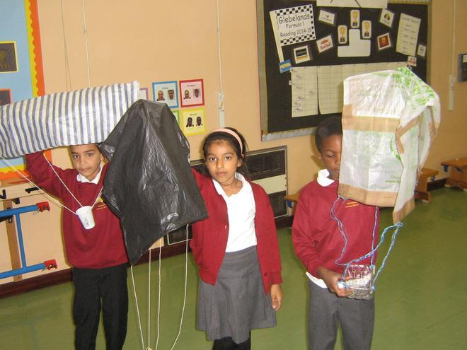 Homework on parachutes for class 8