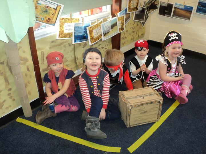 Pirate dress up day