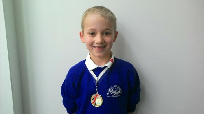 Ashton - Football player of the Match!
