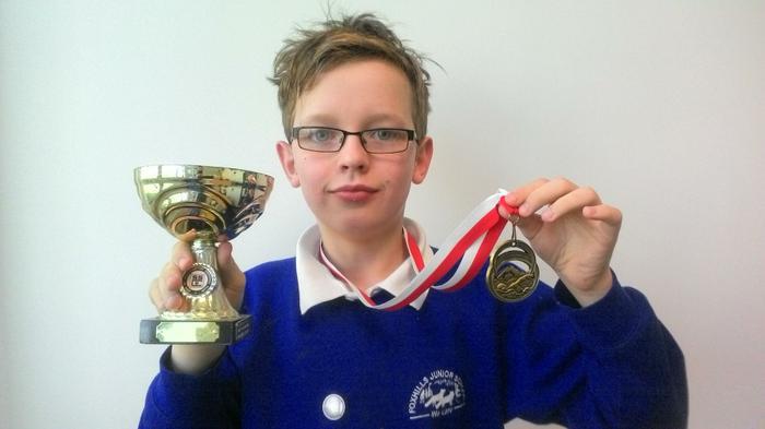 Dylan - 50m back stroke Age 10 WINNER!
