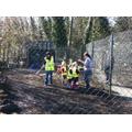 Gardening Club help at Rice Lane City Farm