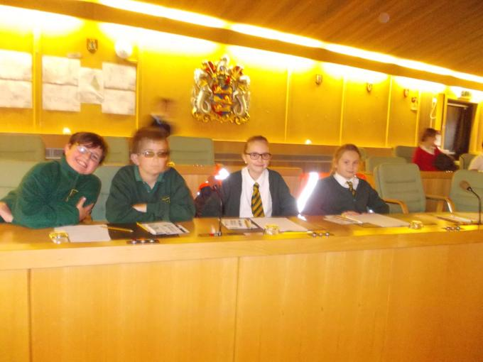 Our JRSOs in the Dover Council Chambers