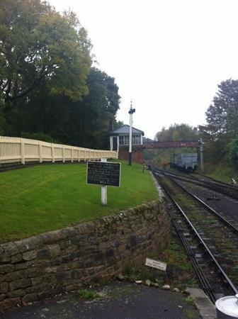 Beamish - Railway Station (Oct 13)