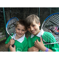 Boys in Year 4 Tennis Team