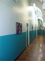 Newly converted Hall