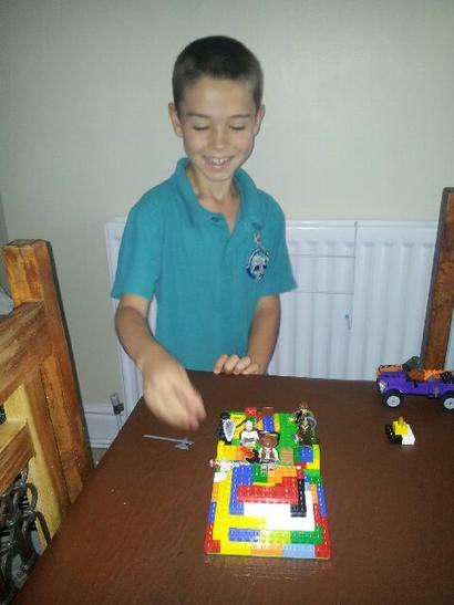 My lego pyramid.