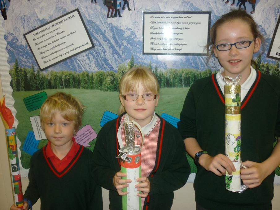 Cloverlea Commonwealth Baton Winning Designs 1