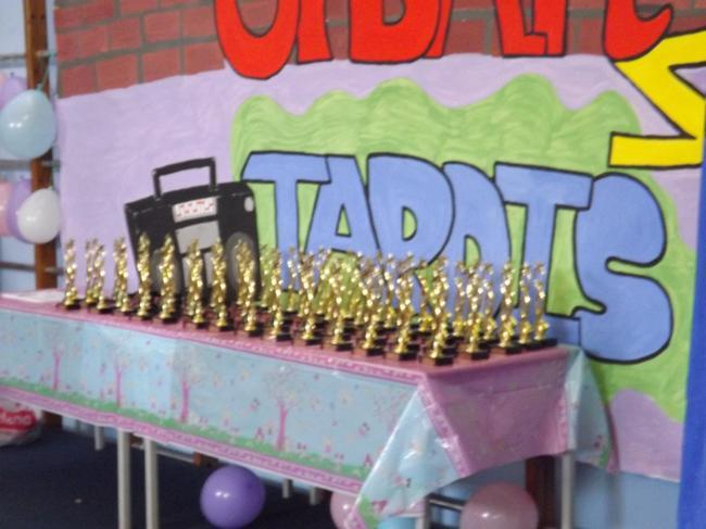 Golden trophies for Golden Pupils!