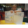 Sequencing the Rosie's Walk story