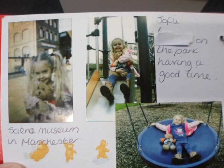 Jofli went to Manchester Science Museum & the park