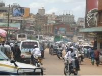 Downtown Kampala City