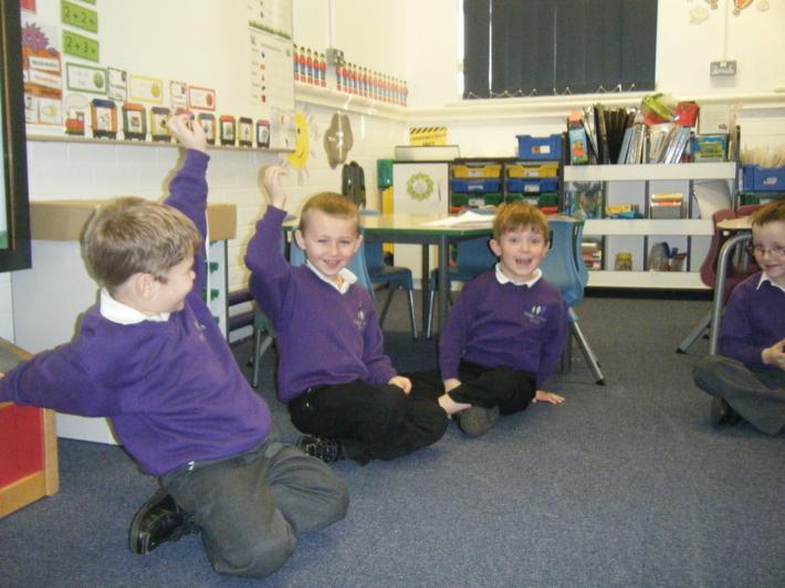 The classroom got quite rowdy!