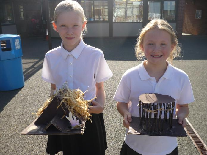 Liby and Freya chose to make very different models!