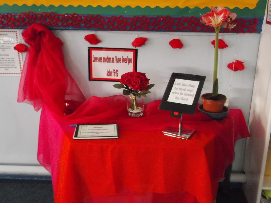 February Prayer Table