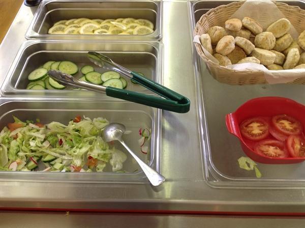 Salad cart