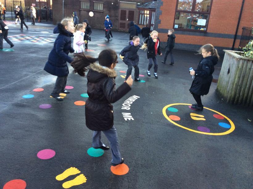 Lower Junior Playground - Classes 6, 7 and 8