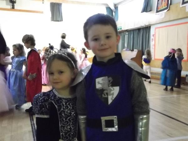 King and Queen of the Ball.