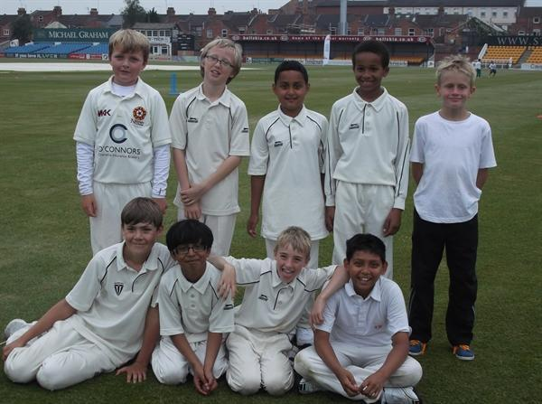 Our Cricketers win all games at county level