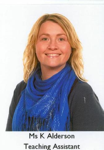 K Alderson, Teaching Assistant